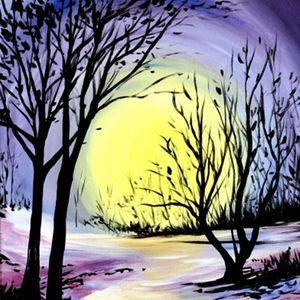 Paint Nite - Glowing Winter